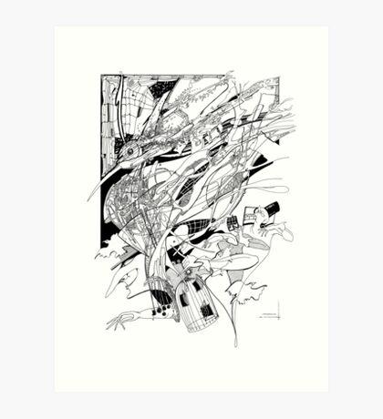 Graphics 014 Art Print