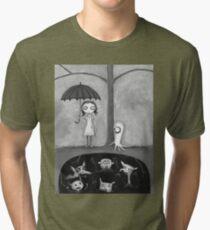 The Monster Tree Tri-blend T-Shirt