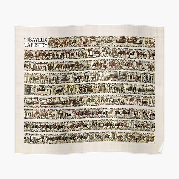The COMPLETE Bayeux Tapestry Poster