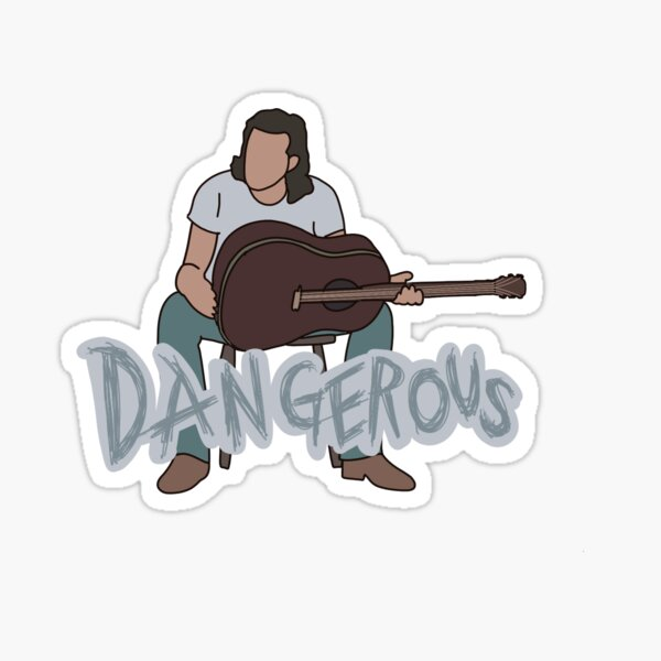 Morgan wallen dangerous album sticker Sticker