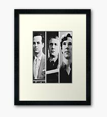 Sherlock - Jim Moriarty, John Watson, Sherlock Holmes Framed Print