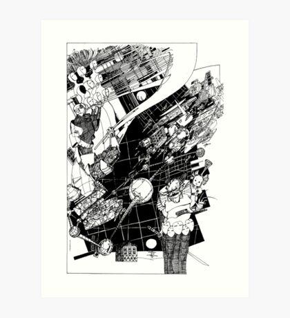 Graphics 015 Art Print
