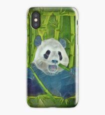 abstract panda iPhone Case/Skin