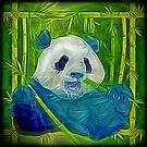 abstract panda by Ancello