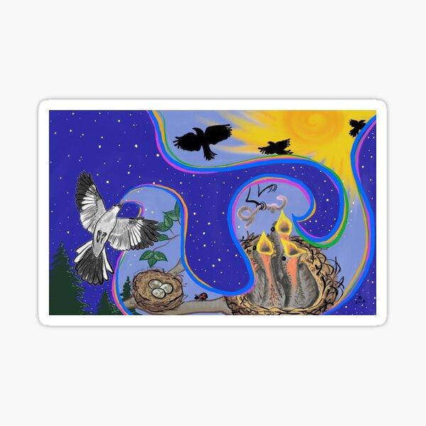 Mockingbird's Song Sticker