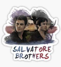Salvatore Brothers - The Vampire Diaries Sticker