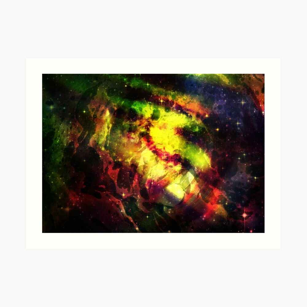 Space Ocean Art Print