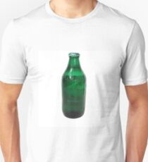 Isolated Green Beer Bottle T-Shirt