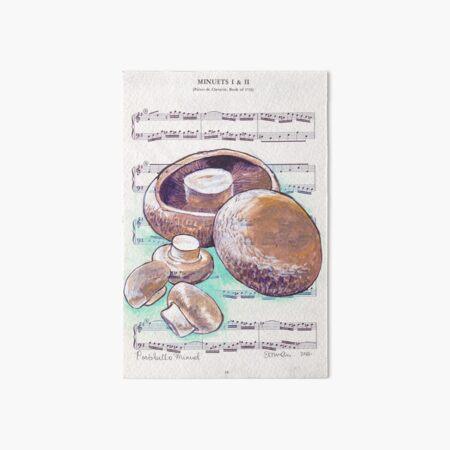 Portabello Minuet Art Board Print