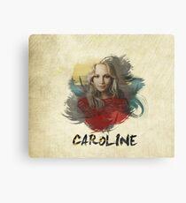 Caroline - The Vampire Diaries Canvas Print