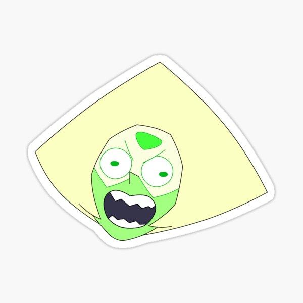 Frustrated Peridot Sticker