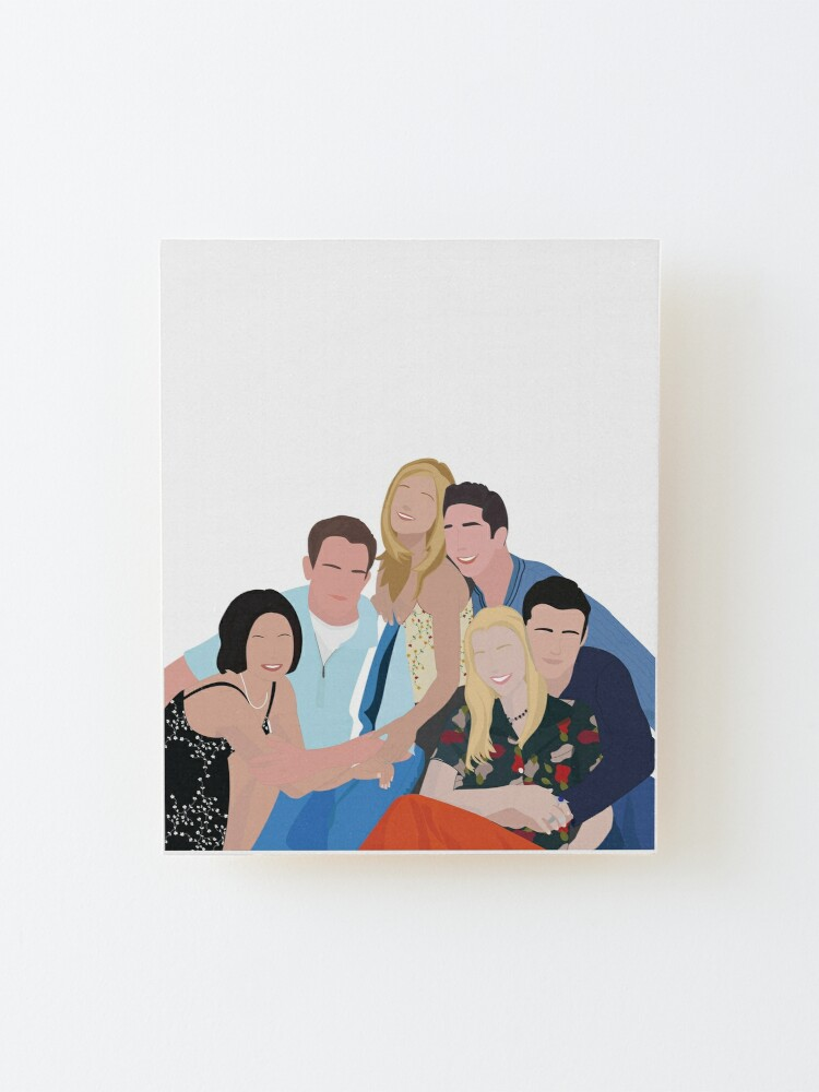 Alternate view of Pals Mounted Print
