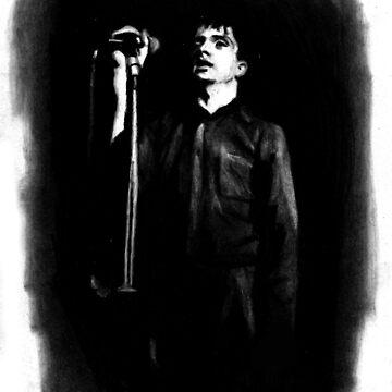 Ian Curtis by Girlafraid50