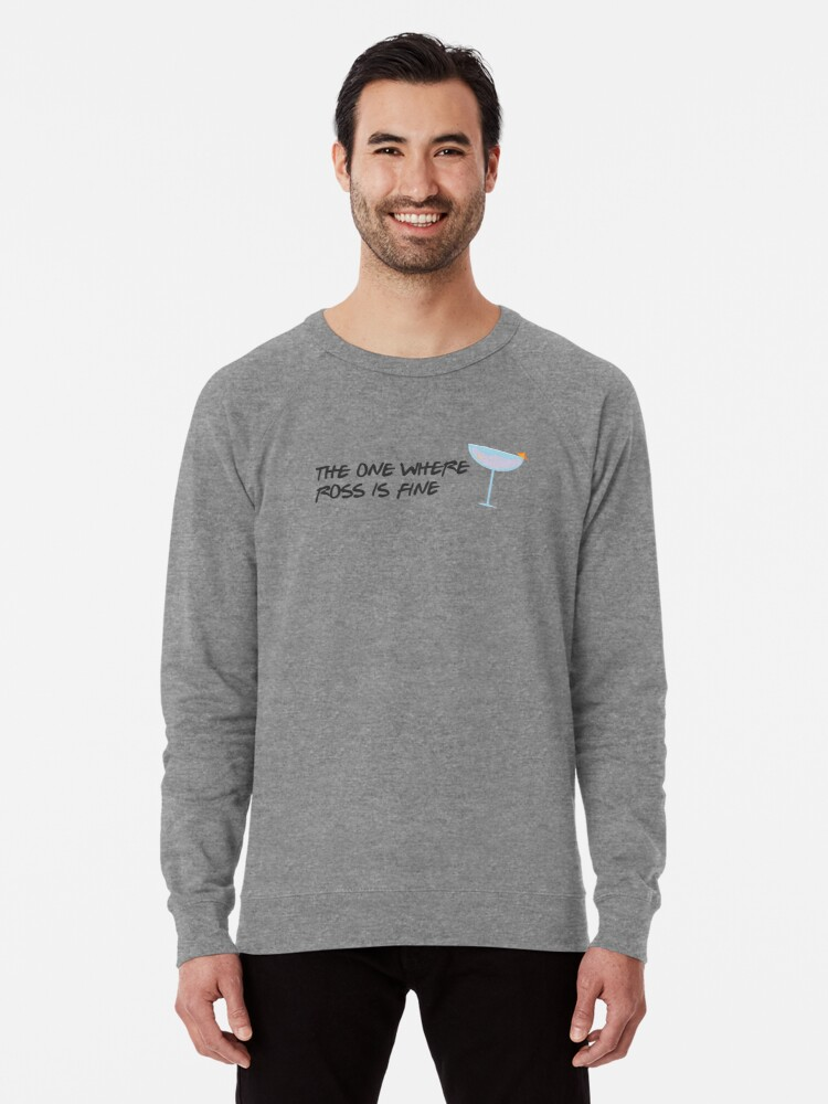 Alternate view of I'm Fine Lightweight Sweatshirt