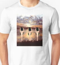 CONTEMPLATING THE SUNSET Unisex T-Shirt