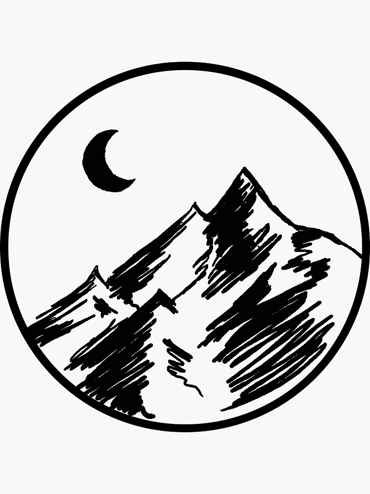 Sketchy Mountain by MinikinQP