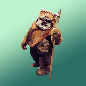 Jittery Little Thing - Low Poly Ewok by andywynn