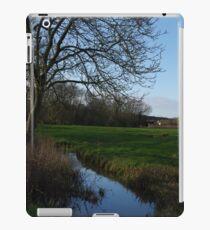 Ye old town field iPad Case/Skin