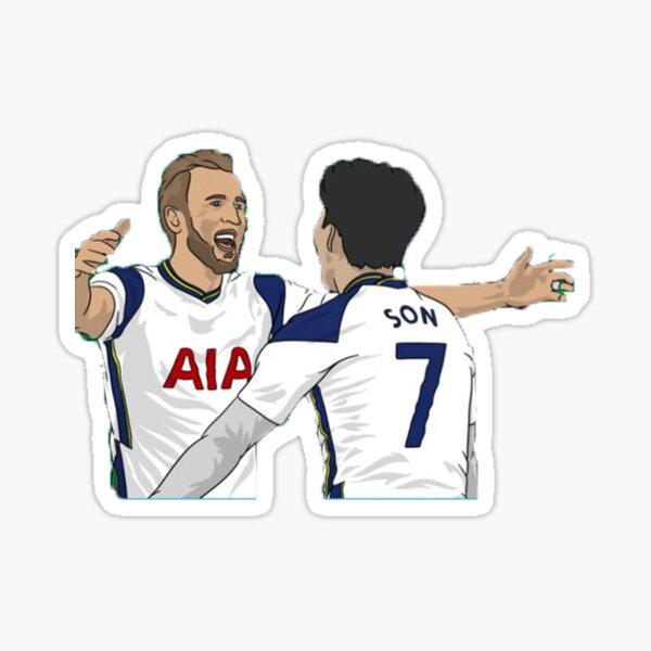Harry Kane & Heung-min Son - Tottenham Sticker