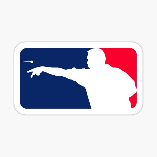League Darts Sticker