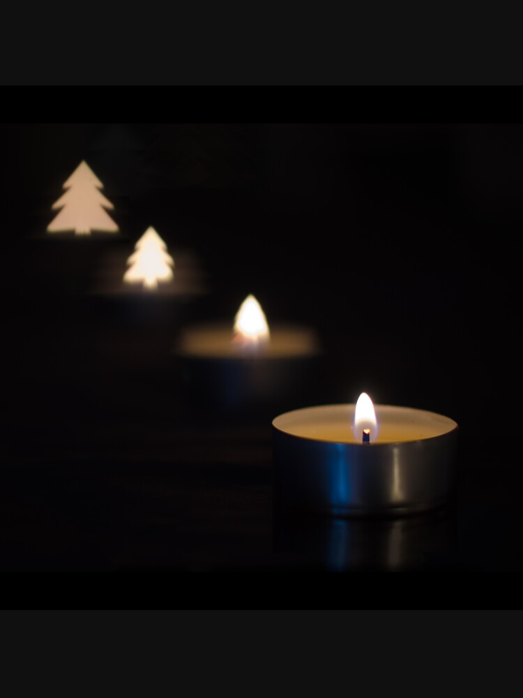 X-mas candle by daveriganelli