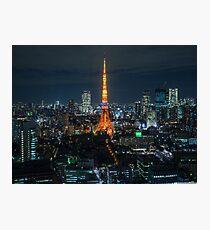 Tokyo Night Photographic Print