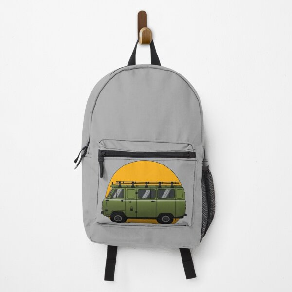 Uaz, Russian van 4x4 green Backpack