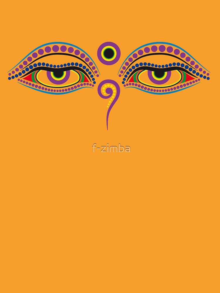Buddha eyes 1 by f-zimba