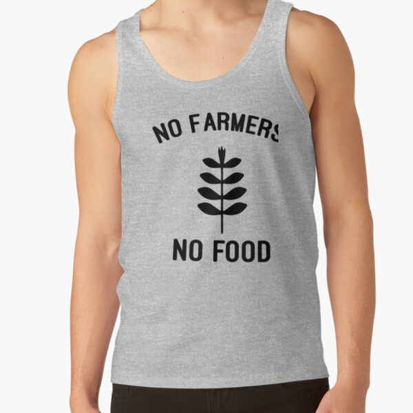 No Farmers No Food Essential T-Shirt, We Support Our Farmers No Farmers No Food Classic T-Shirt, Artwork in support for farmers Tank Top