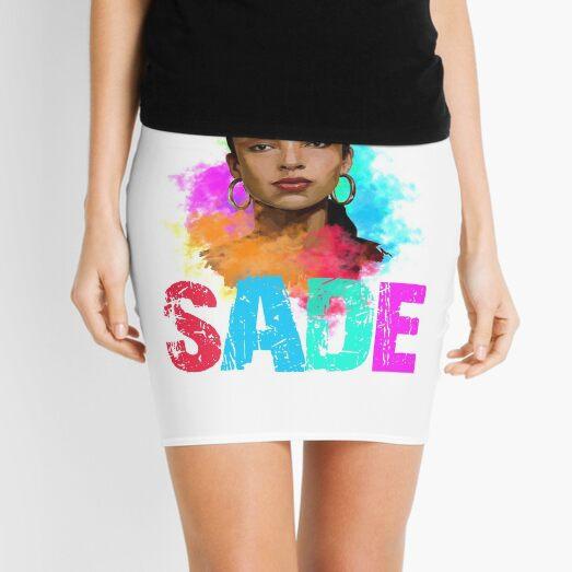 Funny Shirt Sade Beautiful Color, Chemise Sade Color, Tee Shirt sade  Mini Skirt