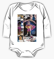 The Caped Counsellor - comic strip One Piece - Long Sleeve