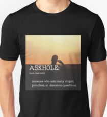 ASKHOLE_Urbandictionary  T-Shirt