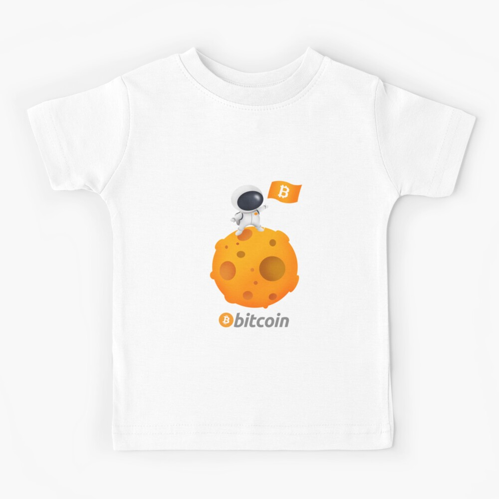 Bitcoin astronaut - Bitcoin - D3 Kids T-Shirt