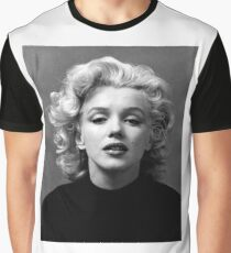 Vintage: Marilyn Monroe (Black&White) Graphic T-Shirt