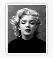 Vintage: Marilyn Monroe (Black&White) Sticker