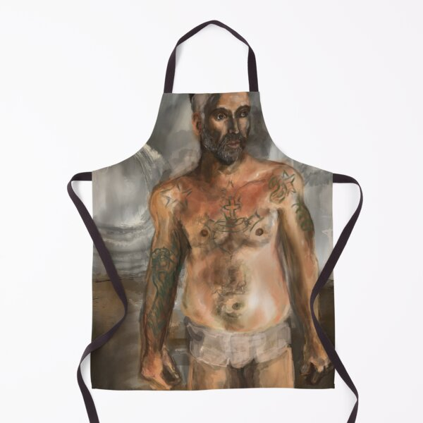 """"""" The Man From Another Planet"""" Apron"""