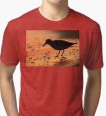 Sandpiper Silhouette Tri-blend T-Shirt