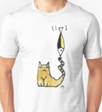 Cat Juggeling with Fish T-Shirt