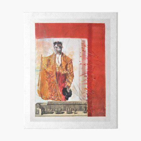Torero Espanol Art Board Print