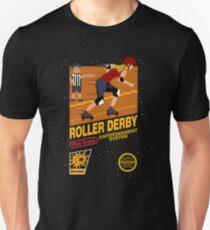 8-bit Roller Derby Unisex T-Shirt