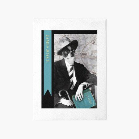 Boston James Joyce Art Board Print