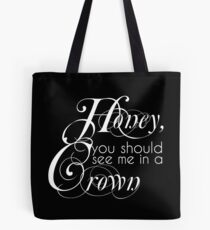 The King Of England Tote Bag