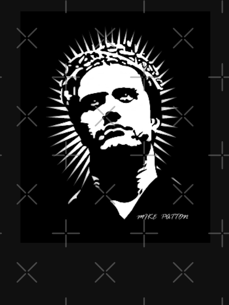 Mike Patton Lord and Savior (Black Background) by DiscoVolante