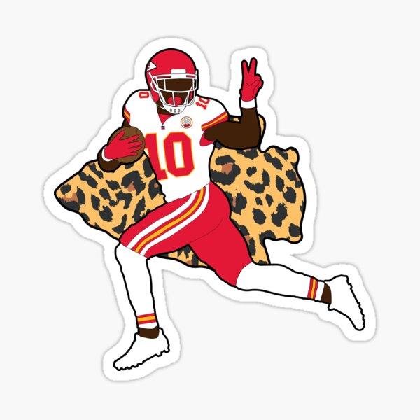 """Tyreek Hill #10 """"Cheetah"""" Sticker"""