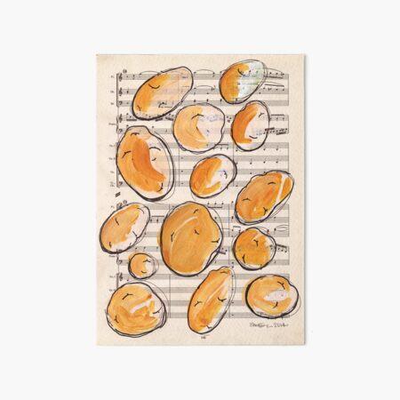Symphony of spuds Art Board Print