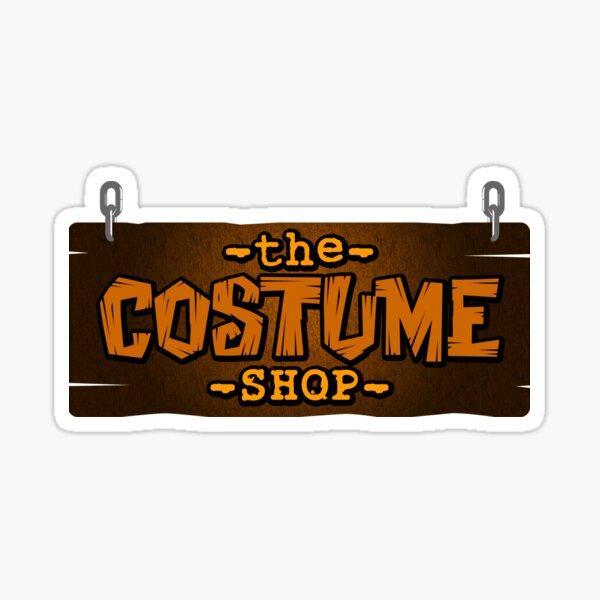 The Costume Shop Logo Sticker