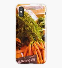 French Vegetables iPhone Case/Skin