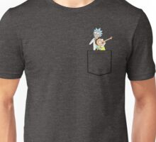 rick and morty pocket v2 Unisex T-Shirt