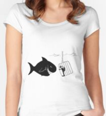 Caged Animal Women's Fitted Scoop T-Shirt