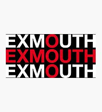 EXMOUTH Photographic Print